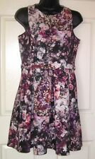 FOREVER NEW FLORAL   DRESS.  SIZE 12