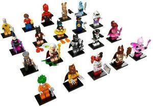 Lego Batman Movie Series 1 71017 COMPLETE SET 20 minifigures minifigs AS NEW