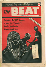The Beat : USA 1967 Teen Magazine : Vol.2 No.34   Monkees  Rolling Stones