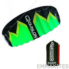 3m² Dual Line Kiteboarding Trainer Traction Power Kites Beach Fun Parachute Kite
