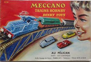 DINKY Toys / Hornby Catalogue Trains Hornby / Meccano 1958 Original