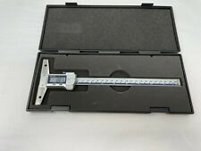 Used Mitutoyo 571 262 20 Depth Gage Digimatic 8 Coolant Proof