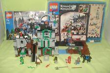 lego knights kingdom 8780 , citadel of orlan, boite et notice