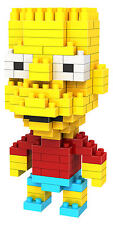 LOZ BLOCK BART SIMPSON simpsons homer building nanoblock nano block