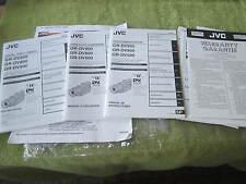 JVC DIGITAL VIDEO CAMERA MANUALS GR-DV900 GR-DV800 GR-DV500