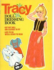 Vintge 1960s Tracy'S Dressing Paper Dolls Lasr Reproduction~Org Sze Unct Free Sh