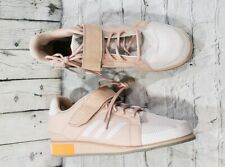 Adidas Power Perfect 3 Weightlifting Shoes Tan Pearl White DA9882 MEN'S SIZE 14