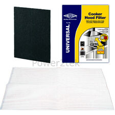 Universal Cooker Hood Grease & Charcoal Filters for AEG Fan Extractor Vent NEW