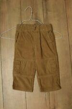 Gymboree boys light brown corduroy pants size 18-24M