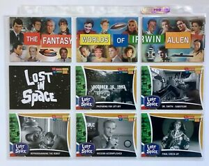 Lost in Space The Fantasy Worlds of Irwin Allen trading card set by Rittenhouse.