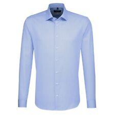 Seidensticker Herren Langarm Business Hemd X-SLIM Kent blau Gr. 36 / 477046.13