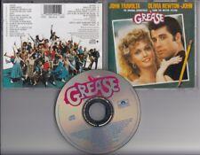 GREASE Soundtrack 1998 REMASTERED EDITON CD OLIVIA NEWTON JOHN BEE GEES