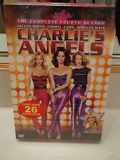Charlie's Angels - The Complete Fourth Season (DVD, 2009, 5-Disc Set) Brand New