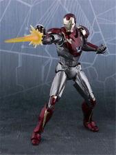 Anime SHF Avengers Infinity War Iron Man Mk-47 Action Figure New No Box 15cm
