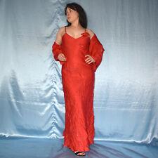Rouge Robe de Soirée + Étole * S 38 D'Été * Maxi * Cocktail * Fourreau