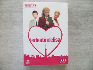 coffret 3 dvd  le destin de lisa,coffret numéro 4 épisodes 73 à 96 occasion