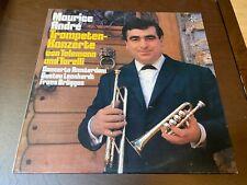 Maurice Andre~Trumpet Concerto~Telemann, Torelli~GERMAN IMPORT~Frans Bruggen LP