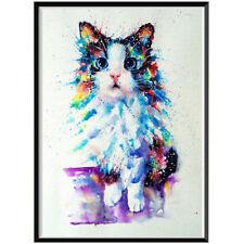 1Set 5D DIY Diamond Painting colorful cat Diamond embroidery Mosaic home decor'