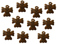 Lot of 10 Brown Totem Spirit Bird Tribal Resin Craft Necklace Jewelry Pendants