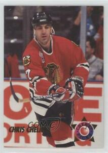 1992-93 Parkhurst Cherry Picks Chris Chelios #CP16 HOF