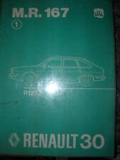 RENAULT 30 - R30 MANUEL REPARATION MR 167 MECANIQUE ORIGINE D'EPOQUE