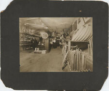 VINTAGE 1900S PHOTO OF INTERIOR STORE W/ PHONOGRAPHS, BIKES, HULA HOOPS,   MORE