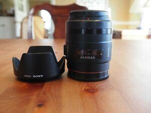 Sony SAL 35mm f/1.4 G A-mount lens