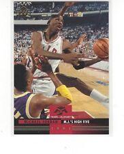 1993-94 UPPER DECK BASKETBALL MR. JUNE MICHAEL JORDAN #MJ2 M.J.'S HIGH FIVE