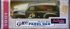 Ertl 1995 True Value 1951 GMC Panel Van 1/25 scale Die cast metal NOS Free Ship