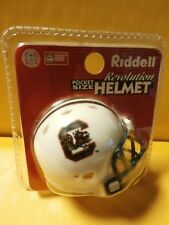 NCAA SOUTH CAROLINA GAMECOCKS Riddell Revolution Pocket Pro Mini Football Helmet