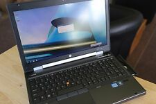 HP Elitebook 8570W i7 3610 2.3GHz 16GB ram 700GB HD Quadro K2000m Blue ray DVD