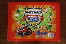 Matchbox Across America Case w/ Original Inserts 48 Cars 17 License Plates