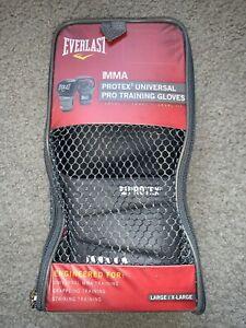 Everlast  MMA Protex3 Universal Pro Training Grapling Striking Gloves Size L/XL