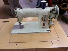 Vintage Green Singer Model 15-125 Sewing Machine 1956 Year