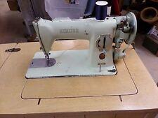 Vintage Green Singer Model 15-125 Sewing Machine 1956 Year