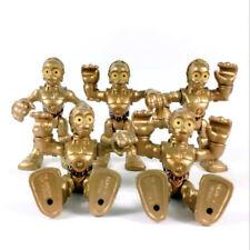 Lot 5Pcs Star Wars Playskool Galactic Heroes C3PO Foot Droid hasbro Figure toys