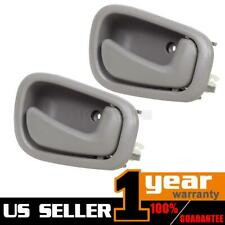 1 Pair Gray Inner Front Rear Right RH Door Handle For 1998-2002 TOYOTA COROLLA