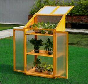 Wooden mini Greenhouse
