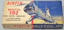 AIRFIX 1/72 BRISTOL 192, SERIES 3, RARE TYPE 2 BOX