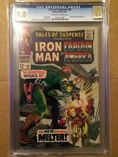 CGC 9.0 Tales of Suspense #89 *OW-White*Red Skull & Melter App.*1967