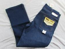 Vtg NOS 70s Key Imperial Indigo Denim Jeans Size 36x30 Boot Cut Deadstock