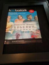 Hoobastank Running Away Rare Original Radio Promo Ad Framed!