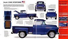 1957 Chevrolet 3100 STEPSIDE PickUp SPEC SHEET/Brochure
