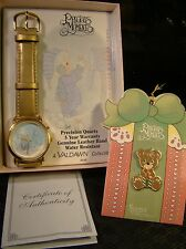 NEW AVON Watch Precious Moments Limited Edition Gold Singing Collectable