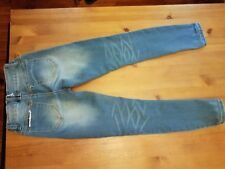 ANGEL KISS LIGHT WASHED MID RISE JEGGING JEANS Size 0