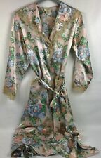 Victoria's Secret Robe Floral Full Length Size Medium Gotgeous EUC