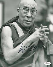 "Dalai Lama REAL hand SIGNED 8x10"" photo with JSA LOA Tibetan spiritual leader #2"