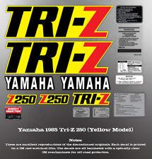 YAMAHA 1985 TRI-Z 250 FENDER SHROUD DECALS GRAPHICS