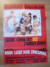 Filmposter * Kinoplakat * A1 * James Bond 007 - Man lebt nur zweimal * WA 70er