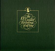 BOX SET THE 100 GREATEST RECORDINGS OF ALL TIME 11/12 horowitz piano milestones